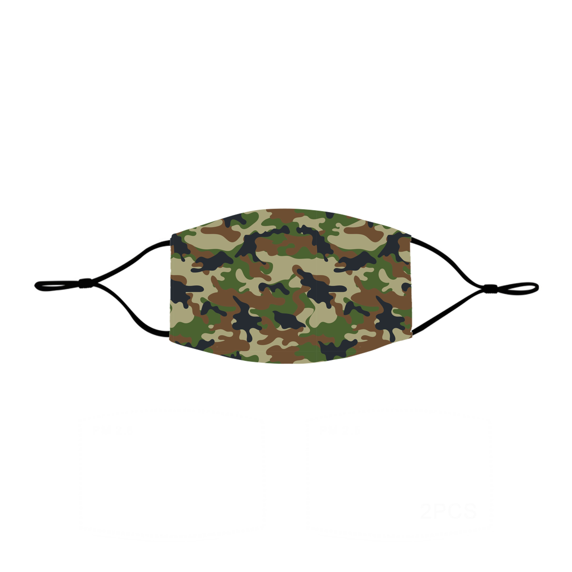Camo - Non-Medical Face Mask (M - Youth)