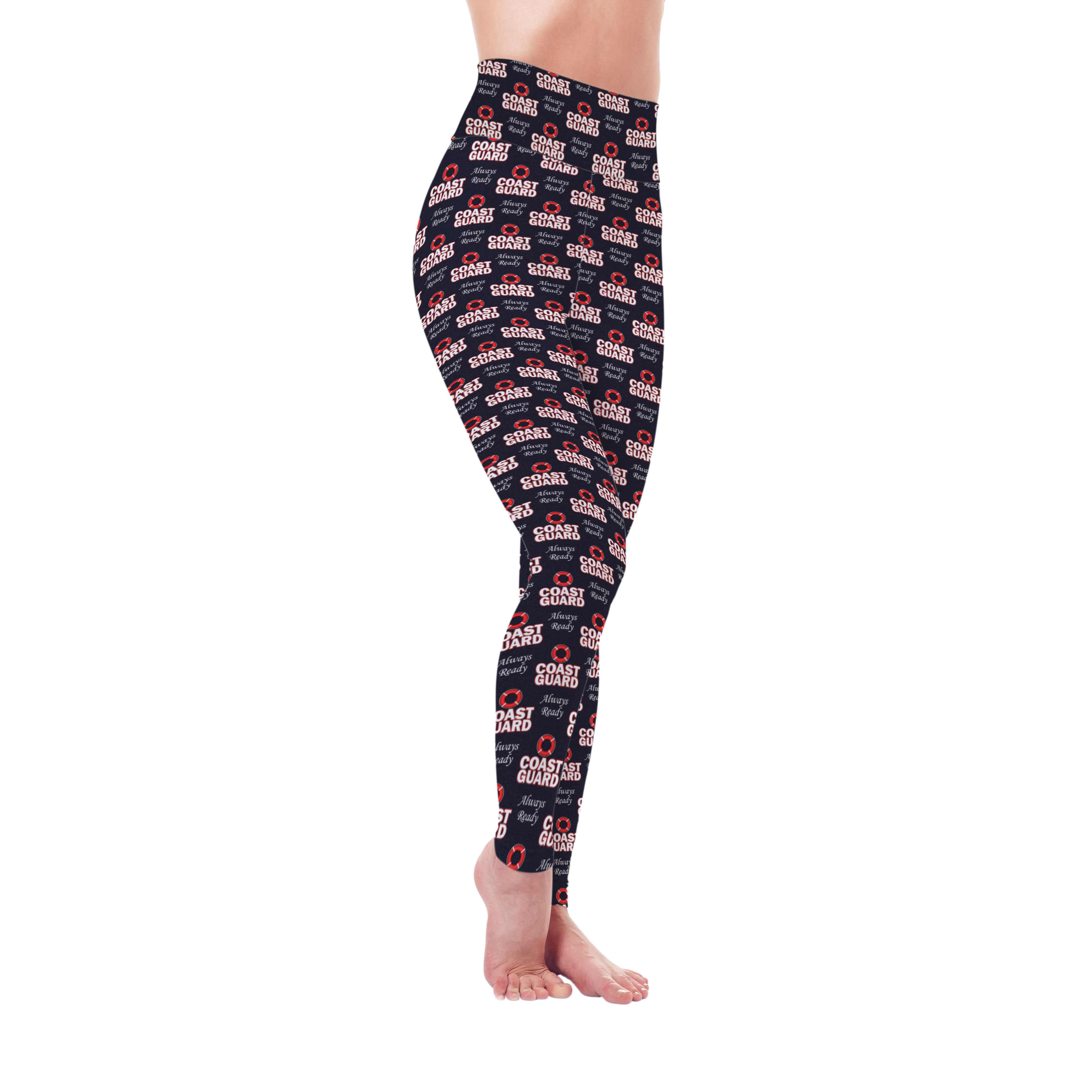 Protect & Serve Collection - Coast Guard Leggings