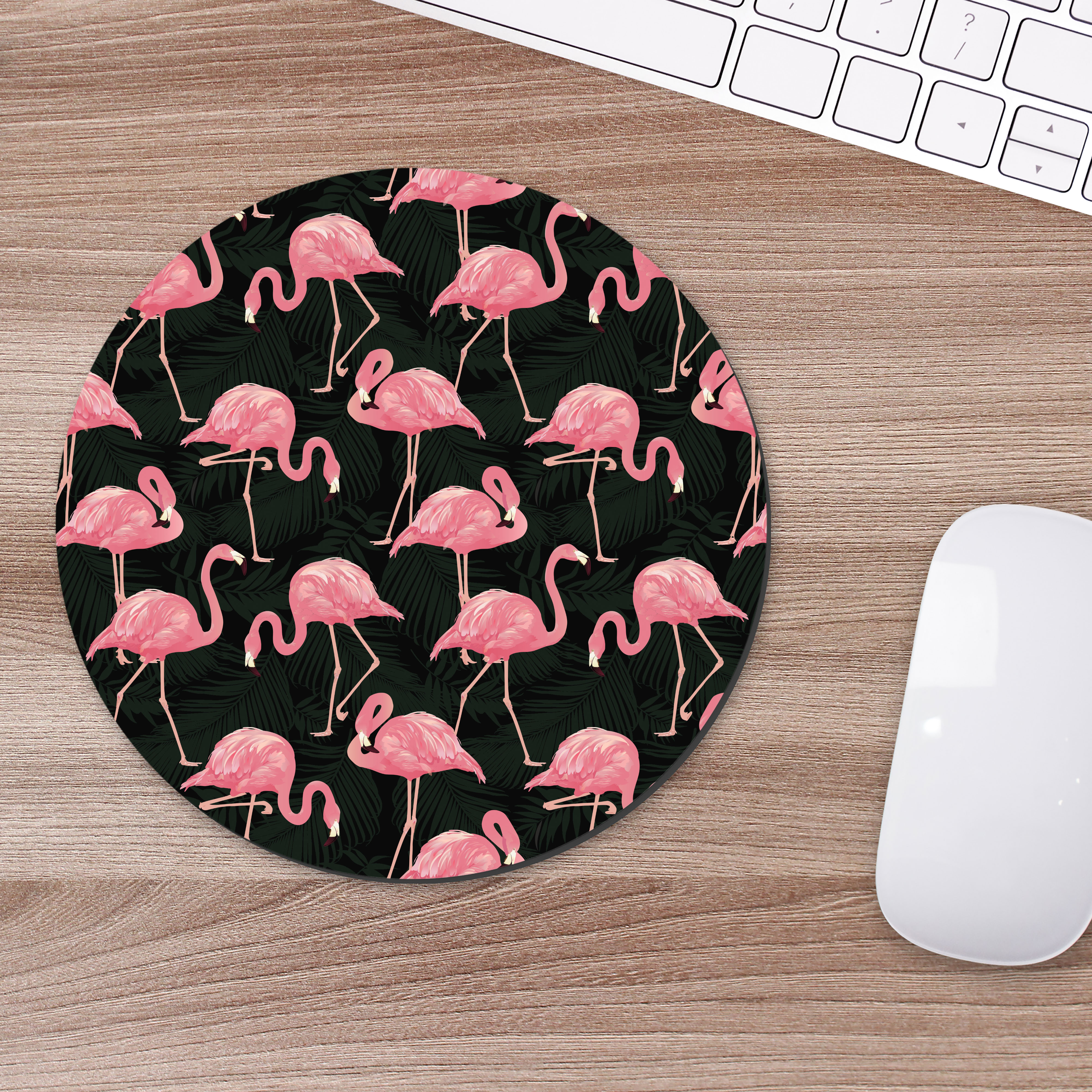 Flamingos - Mousepad