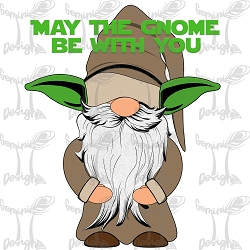 May the Gnome be with you Artwork