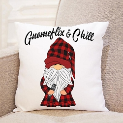 Gnomeflix and Chill Pillow Cover