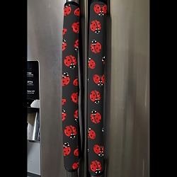Handle Cover Vertical - Ladybugs