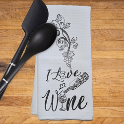Love to Wine Kitchen Towel