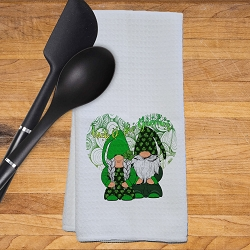 Lucky Gnomes Kitchen Towel