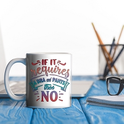 If it requires and bra & pants, then no! MUG