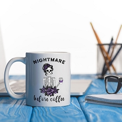 Nightmare before Coffee mug