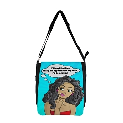 Top It Off Messenger Bag - Thought Bubble