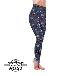 Saturday Evening Post - Wintertime Fun Leggings
