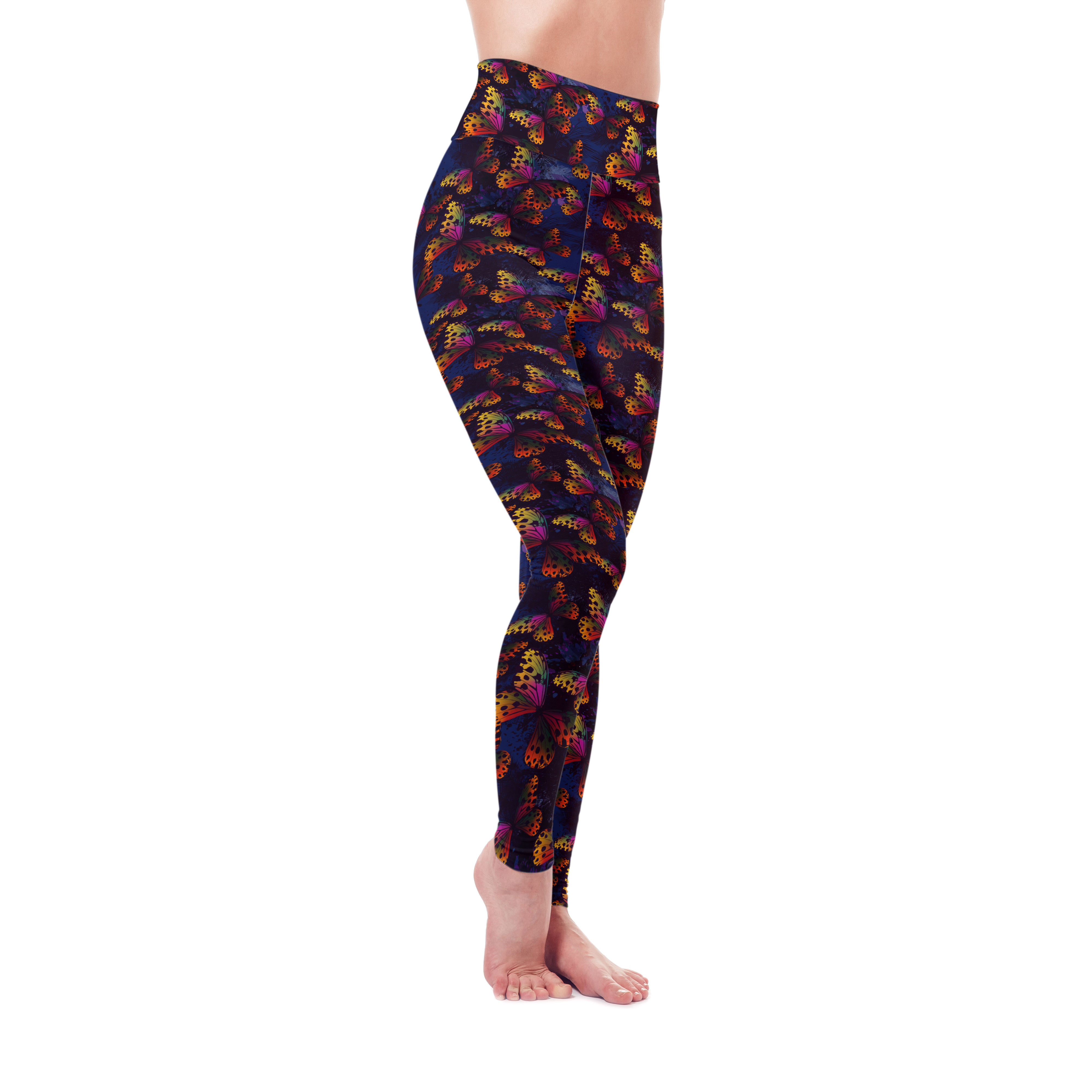 Tropical Butterflies Leggings