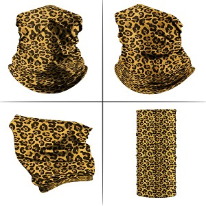 Neck Gaiter - Cheetah Print Pattern