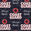 Protect & Serve Collection - Coast Guard Leggings Swatch