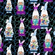 Easter Gnomes Leggings Swatch