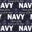 Protect & Serve Collection - Navy Leggings Swatch