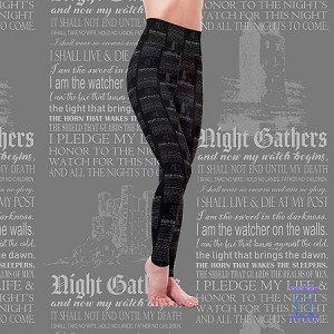 Defenders of the Wall Leggings