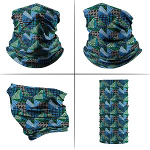 Neck Gaiter - Patchwork Bunnies