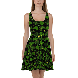 Pot O' Gold Skater Dress